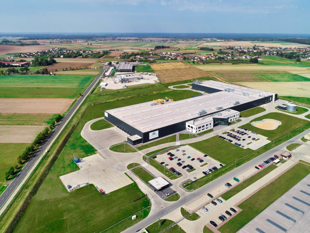 Dunapack Eurobox - Lubliniec - Budowa drugiej w Polsce fabryki